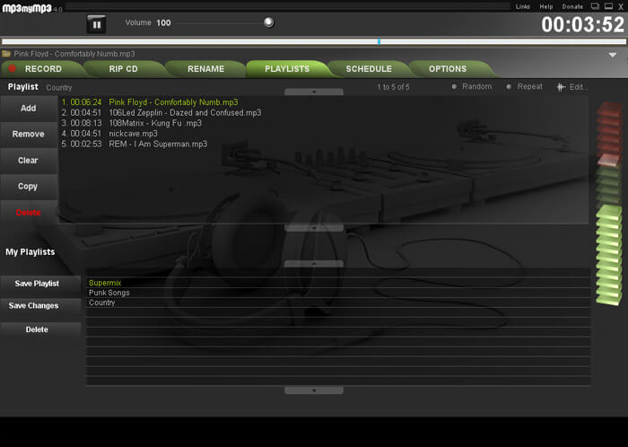 MP3 My MP3 Recorder screenshot
